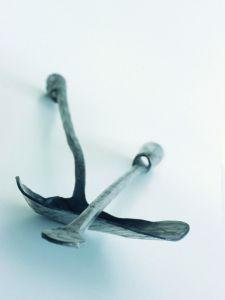Kované krbové nářadí  - lopatka a pohrabáč