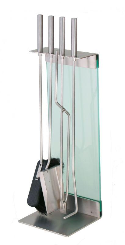 Conmoto Teras, krbové nářadí nerez, saténové sklo