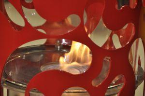 Glammfire Bliss - volně stojící biokrb - detail