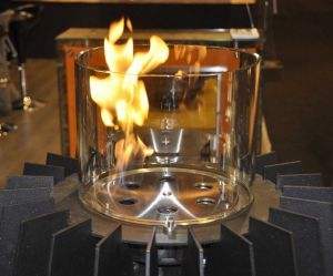 Glammfire Burner I - hořák s prstencem a žáruvzdorným sklem