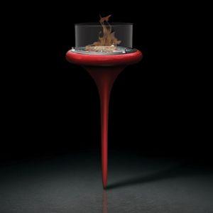 Glammfire Flut - biokrb může být doplněn o transparentní nožku