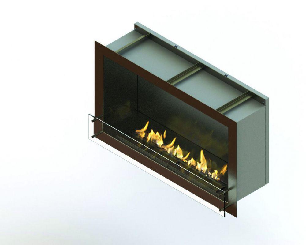 Glammfire GlammBox 1150 - vestavný biokrb, jednostranný