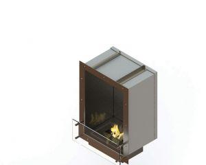 Glammfire GlammBox 420 - vestavný biokrb, jednostranný