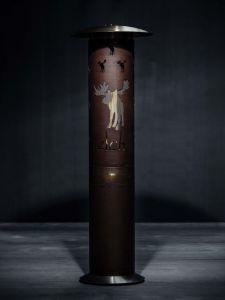 Plynový ohřívač vzduchu Glammfire Hyperion se zakázkovým provedením