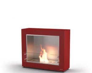 Glammfire Muble 1150 - volně stojící biokrb - červená