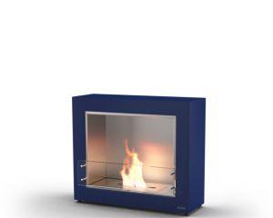 Glammfire Muble 1150 - volně stojící biokrb - modrá