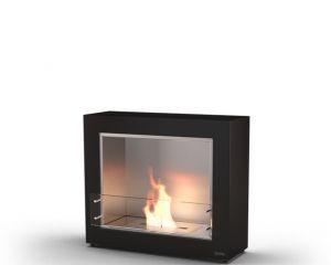 Glammfire Muble 1150 - volně stojící biokrb - černá