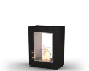 Glammfire Muble 700 DF - volně stojící biokrb - oboustranný, černý