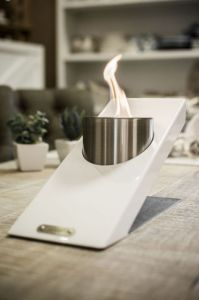 Glammfire Oblique Tabletop Single - bílá