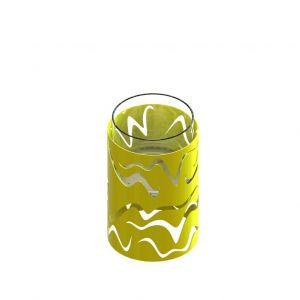 Glammfire Samba - volně stojící bio krb - žlutá