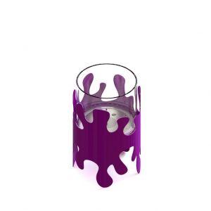 Glammfire Splash - volně stojící biokrb - fialové provedení