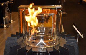 Hořák volně stojícího biokrb Glammfire Tuli