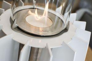 Glammfire Tuli Tabletop v bílé