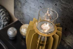 Stolní biokrb Glammfire Tuli Tabletop - zlatá