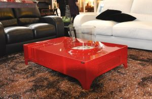 Glammfire Vulcanu - volně stojící bio krb - stolek