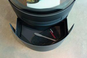 Skantherm Emotion M - designová krbová kamna - zásuvka