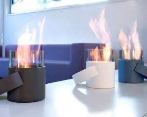 Conmoto Hotpot, bílý - stolní biokrb