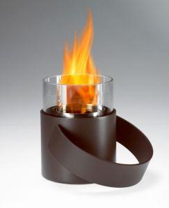 Conmoto Hotpot, šedohnědý - stolní biokrb