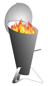 Vestavný gril Hoefats Cone
