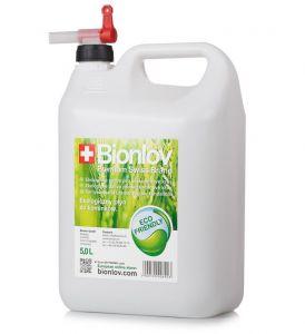Nálevka s kohoutkem pro doplňování bioetanolu