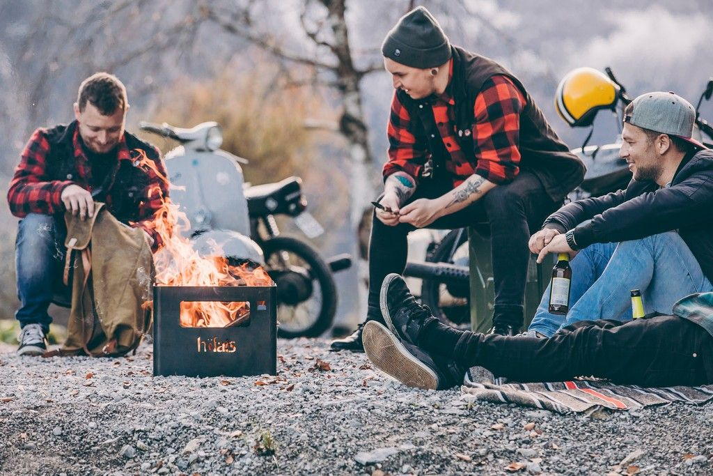 Kovové ohniště Höfats Beerbox