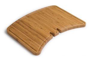 Masivní bambusová deska s drážkou pro stékající tuk