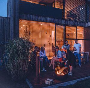 Höfats Cube Black zahradní ohniště