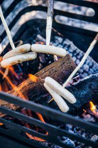 Hoefats Cube Black - zahradní gril a ohniště