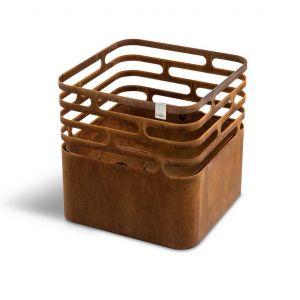 Hoefats Cube Corten - rezavý gril a ohniště