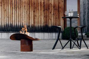 Hoefats Ellipse - designové ohniště a grill