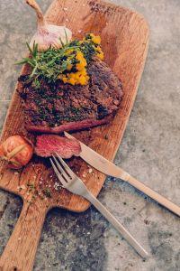 Hoefats - steakové příbory, čtyřdílná sada steakových příborů