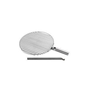Nerezový grilovací rošt Ø 45 cm pro Höfats Triple vč. 40 cm stojné tyče