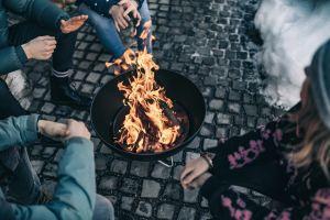 přenosné ohniště s grilem Höfats Bowl
