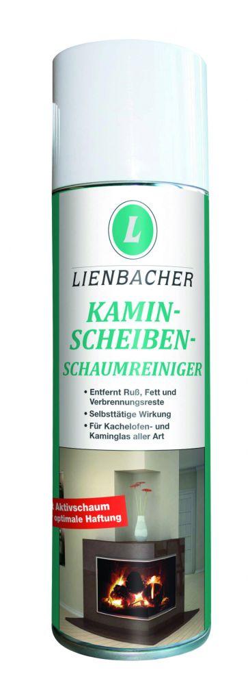 Pěnový čistič krbových skel, Lienbacher