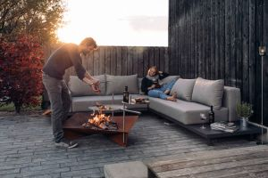 Höfats Triple Ø 120 - přenosné ohniště s grilem