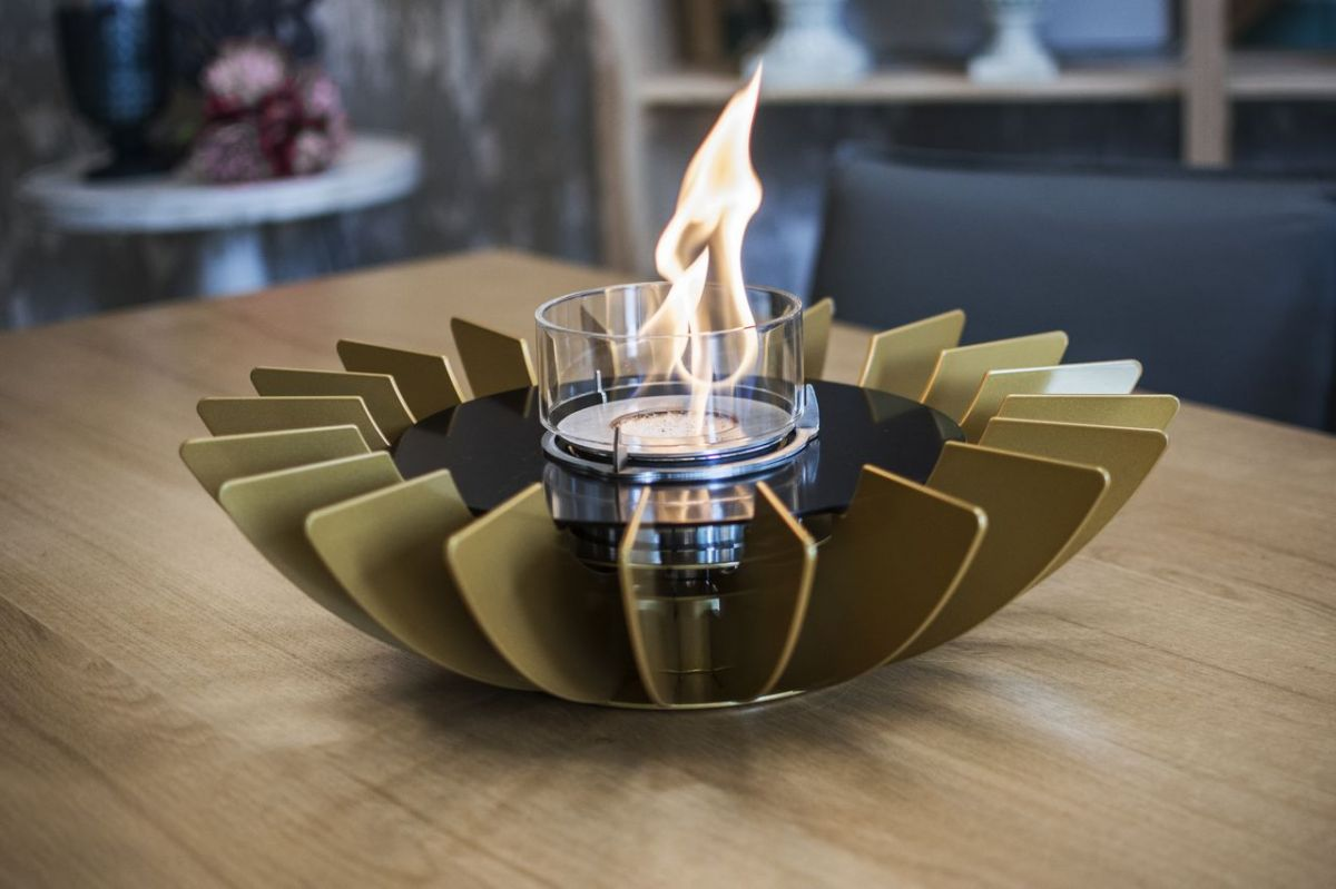 Glammfire Cosmo Tabletop - zlatá