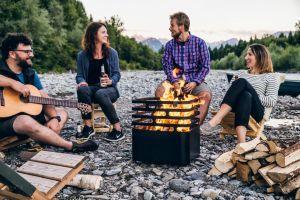 Hoefats Cube Black - POUŽITÝ - gril a ohniště