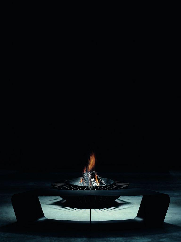 Glammfire Cosmo 13 - zahradní přenosné ohniště