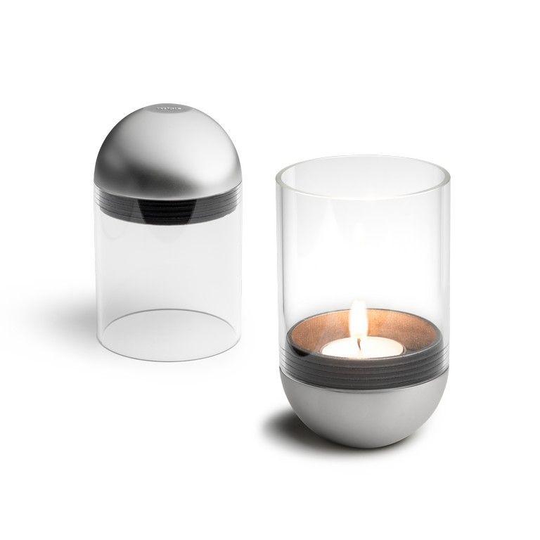 Höfats Gravity Candle - gravitační svícen na čajovou svíčku