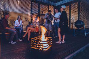 Höfats Cube Black gril párty