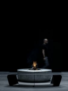 Glammfire Zarzuela - venkovní ohniště z kamene