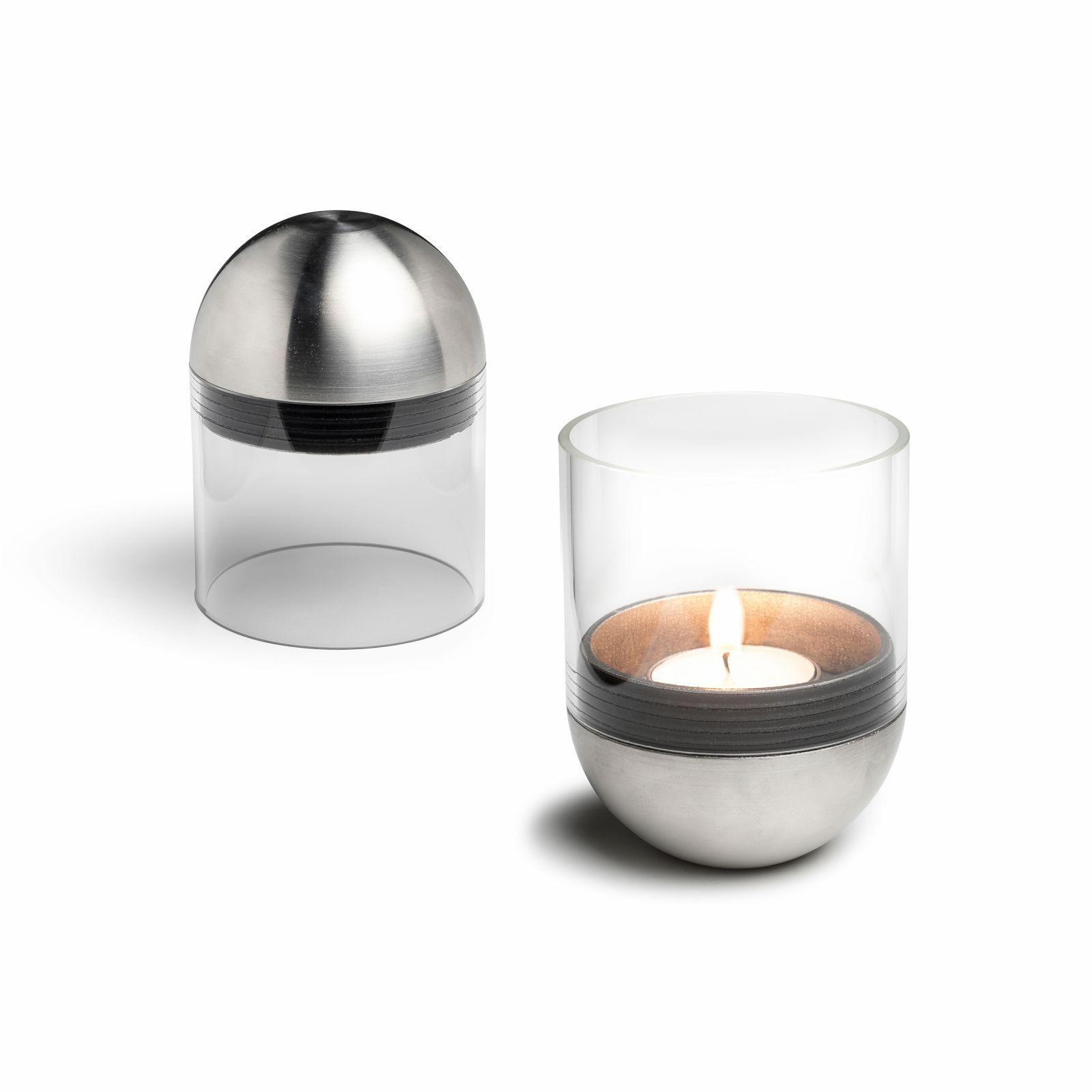 Gravity Candle M60 - gravitační svícen na čajovou svíčku