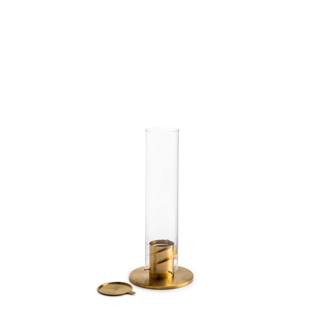 Höfats Spin 90, zlatý - stolní biokrb se zhášedlem