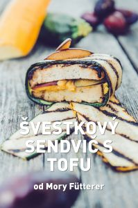 Švestkový sendvič s tofu