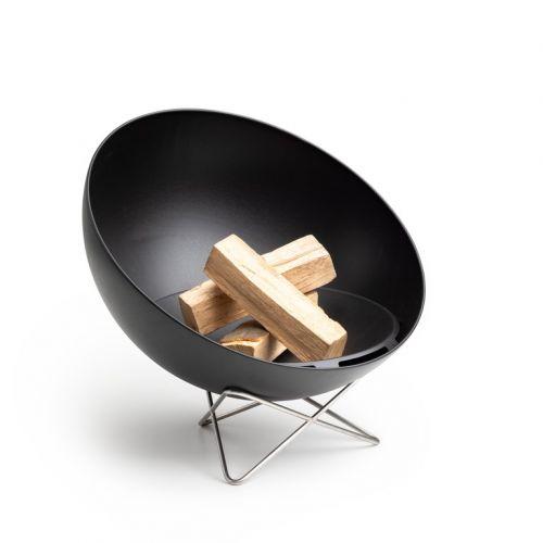 Přenosné ohniště s grilem - Höfats Bowl s drátěnou podstavou