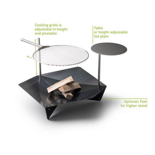 Triple pole - přídavná tyčka pro grilovací plotnu / stolek Triple Table