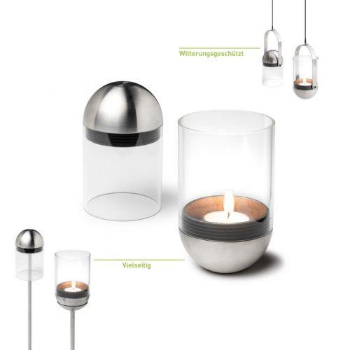 Gravitační svícen na čajovou svíčku Gravity Candle