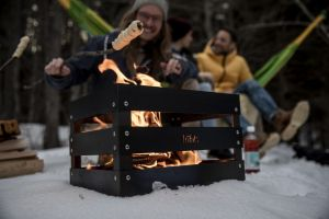 Venkovní kovové ohniště Höfats Crate